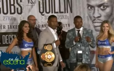 Andrew Rosario Quillian vs Jacobs Boxing package