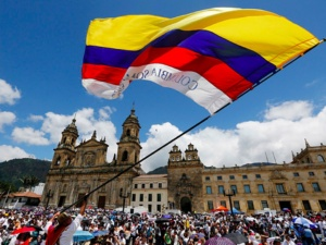 peace day in Colombia