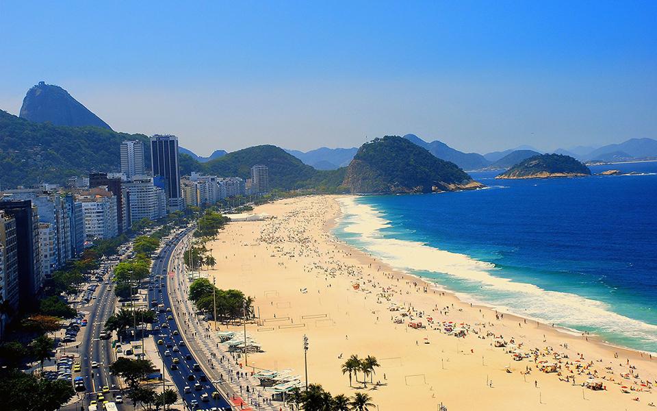 Rio de Janeiro disfraza sus calles con los colores de los Juegos Olímpicos