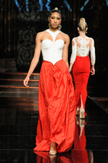 Temraza at Art Hearts Fashion NYFW The Shows Presented by AIDS Healthcare Foundation