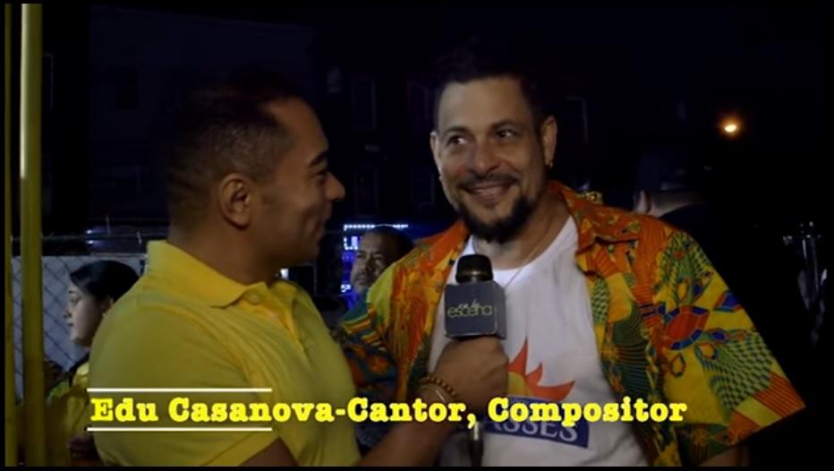 Edu Casanova at Lavagem Da Rua 46 Celebration