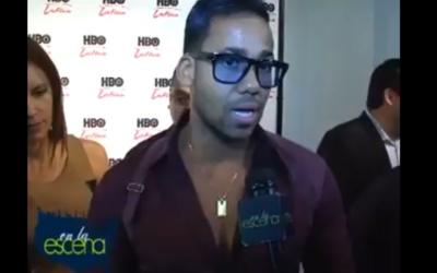 Romeo Santos at HBO Latino