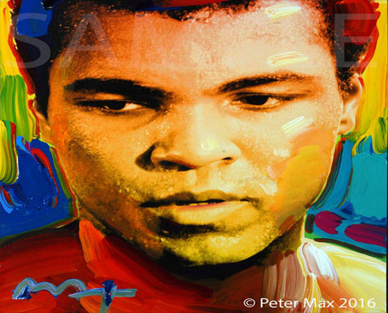 Peter Max Unveils Muhammad Ali Tribute Ahead of LI Exhibition