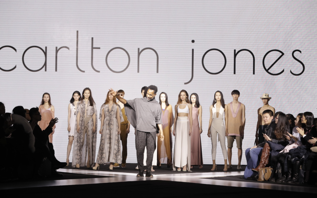 DESIGNER CARLTON JONES THE FIRST AMERICAN DESIGNER EVER FEATURED AT HARBIN FASHION WEEK 2017 IN CHINA