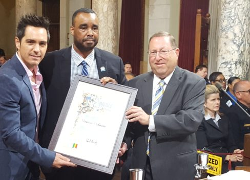 LA City Council Honors Mexican Actor Mauricio Ochmann for Helping to Pass Calif. End of Life Option Act