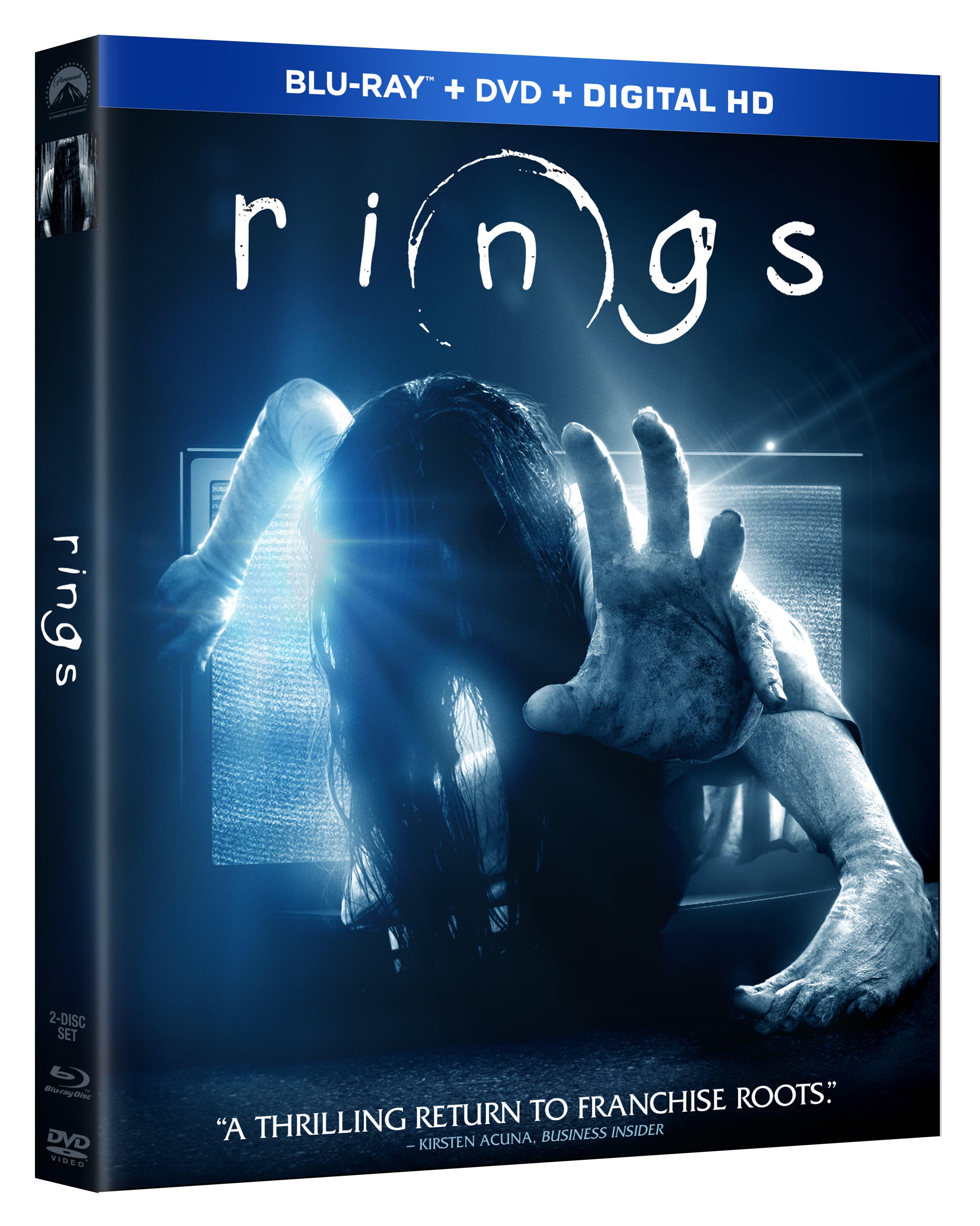 La película Rings disponible en Blu-ray/DVD el 2 de mayo
