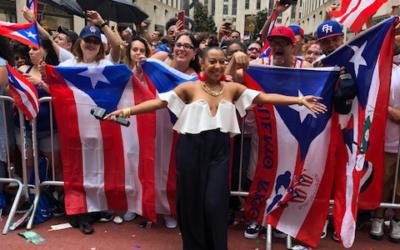 Puerto Rican Parade 2018