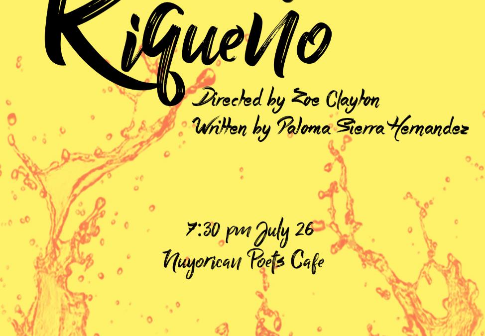 La obra 'Riqueño' habla de la identidad puertorriqueña