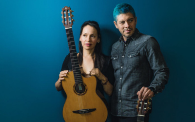 Rodrigo y Gabriela on Tuesday, October 13th at 5 pm ET at SummerStage Anywhere