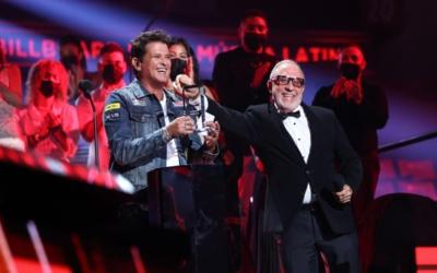 CARLOS VIVES RECEIVES HALL OF FAME AWARD AT THE 2020 BILLBOARD LATIN MUSIC AWARDS