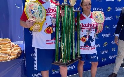 The 2021 Nathan's Annual Hot Dog Eating Contest